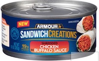 ARMOUR SANDWICH SPRD BUFFALO CHICKN