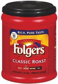 FOLGERS CLASSIC MEDIUM ROAST 11.3OZ