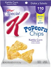 SPECIAL K POPCORN CHIPS SWT/SLTY BX