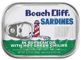 SARDINES W/GREEN CHILI 3.7 OZ