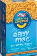 MACARONI & CHEESE EASY MAC BOX/10