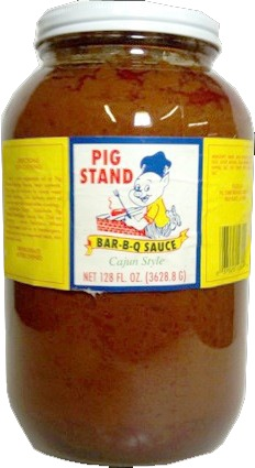 PIG STAND BARBQ 4/1 GALLON