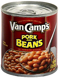 VANCAMP PORK & BEANS 8OZ PTP
