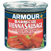VIENNA SAUSAGE ARMOUR BBQ CASE/24