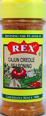 REX CAJUN CREOLE SEASONING 12/5.6 OZ