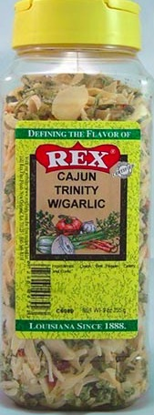 REX CAJUN TRINITY WITH GARLIC