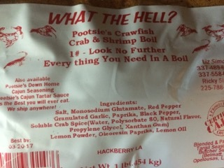 WHAT THE HELL SEASONING 25/1LB
