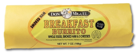 BURRITO DON MIGUEL HAM/EGG/CHEESE