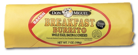 BURRITO DON MIGUEL BAC/EGG/CHEESE