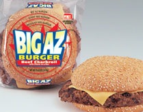 BIG AZ CHARBROIL/CHEESE BURGER 9.65