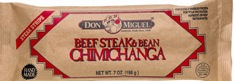 CHIMICHANGA STEAK 7OZ