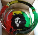 ASHTRAY EACH BOB MARLEY CARICATURE