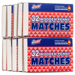 MATCHES SAFETY SMART HANDY 10/32CT