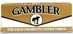 CIG TUBES GAMBLER TUBE CUT LT KING