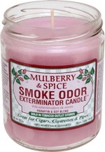 SMOKE ODOR CANDLE MULBERRY SPICE