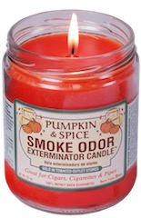 SMOKE ODOR CANDLE PUMKIN & SPICE