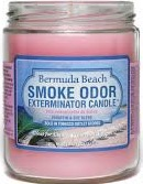 SMOKE ODOR CANDLE BERMUDA BEACH