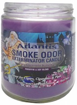 SMOKE ODOR CANDLE ATLANTIS EACH