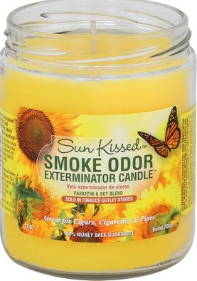 Smoke odor candlE SUN KISSED