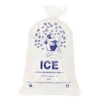 ICE BAG 8 LB DRAWSTRING CASE