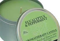 CANDLE AROMATHERAPY PEPPERMINT EA