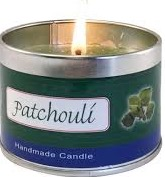 CANDLE AROMATHERAPY PATCHOULI EA