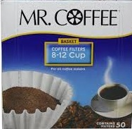 MR. COFFEE DISPOSABLE FLTRS CNT/50