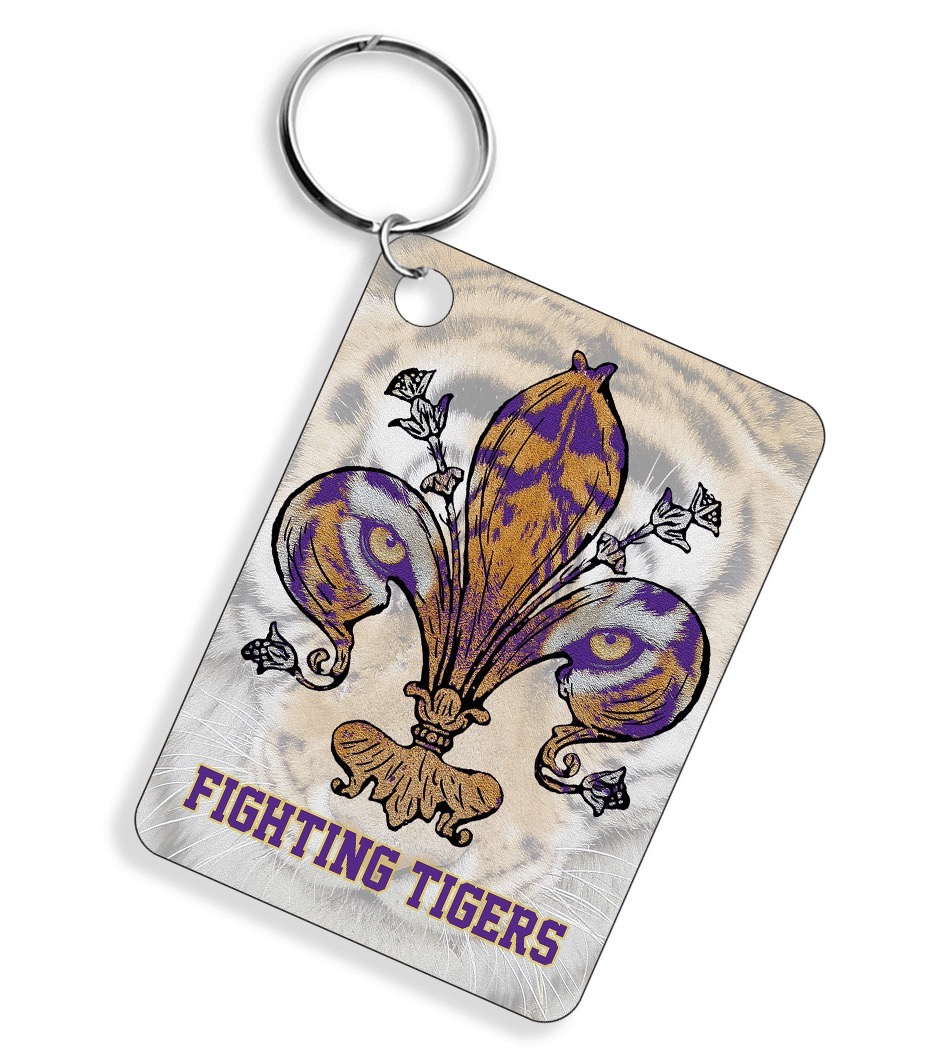 FIGHTING TIGERS KEY CHAIN REFILL 12 PK