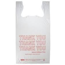 TSHIRT BAG SMALL 8X4X16