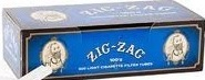 ZIG ZAG CIG TUBES LIGHT 100 BOX/200