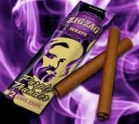 ZIG ZAG CIGAR WRAPS GRAPE