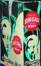 ZIG ZAG CIGAR WRAPS STRAWBERRY