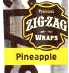 ZIG ZAG CIGAR WRAPS PINEAPPLE