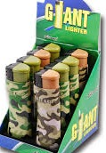 LIGHTERS GIANT 8 CNT ZHUOYE CAMO