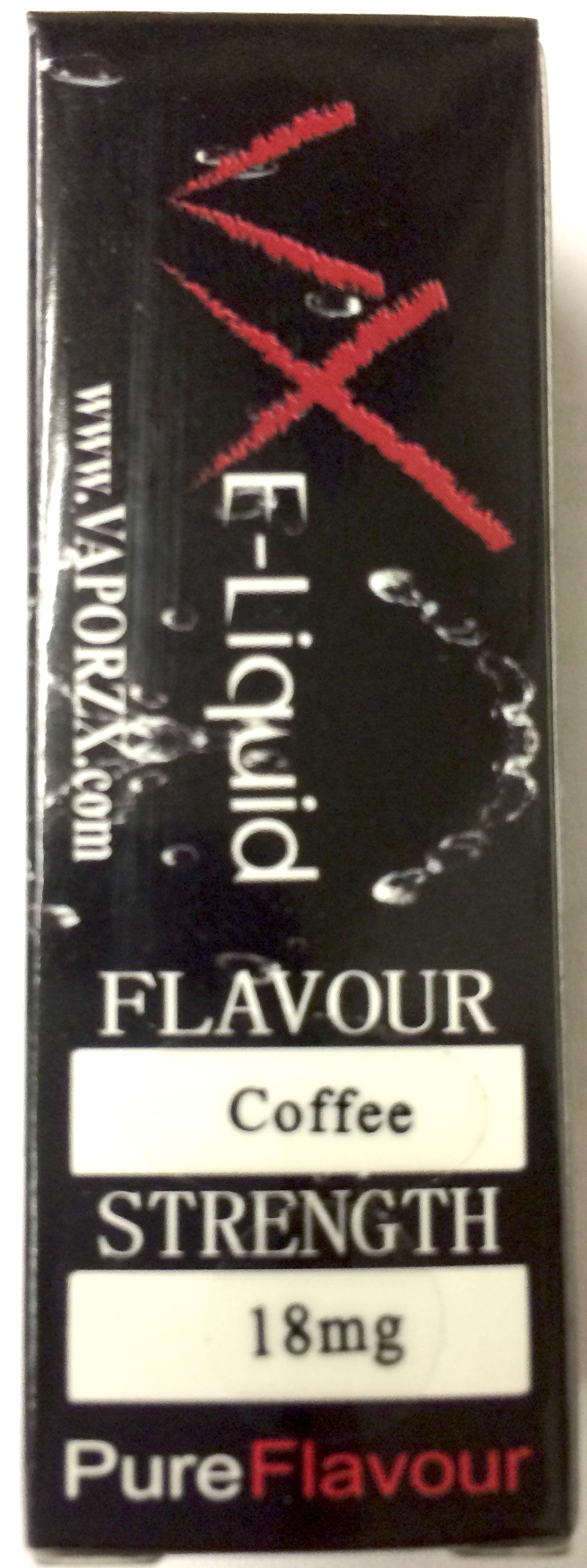 E-LIQUID HOOKAH COFFEE 18MG EACH