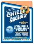 CHILL SKINZ LARGE ORANGE TOWEL EACH