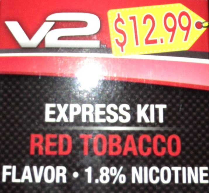 ELE CIG V2 RED EXPRESS KIT BOX/6