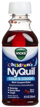 NYQUIL CHILDREN'S LIQUID 8 OZ