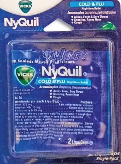 NYQUIL SINGLE PK/12