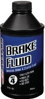 BRAKE FLUID MASTER 12 OZ EACH