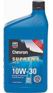 CHEVRON SUPREME 10W30