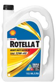 SHELL ROTELLA 15W-40 GAL