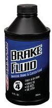 BRAKE FLUID MASTER 12 OZ CASE
