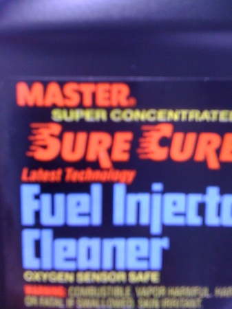 MASTER FUEL INJECTOR CLEANER 12OZ