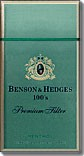 BENSON & HEDGES 100'S DELUXE MEN BX