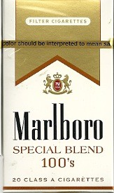 MARLBORO SPECIAL BLEND GOLD BOX 100