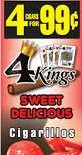 4 KINGS SWEET DELICIOUS 15/4/.99