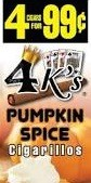 4 KINGS PUMPKIN SPICE 15/4/.99
