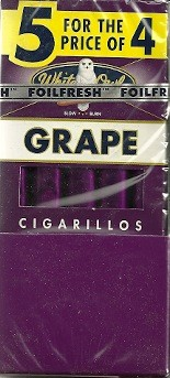 WHITE OWL CIG GRAPE 10 5/4PK