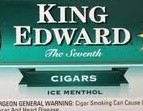 KING ED FILTER CIGAR MENTHOL CTN